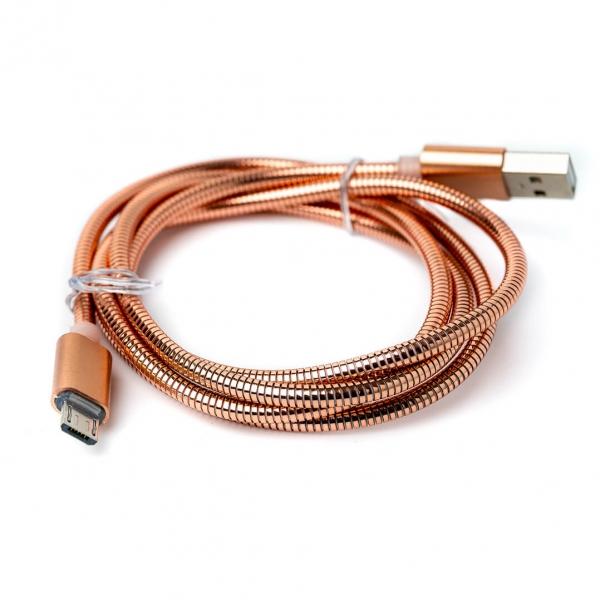 Кабель USB в металлической оплётке с