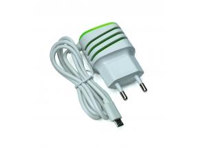 Зарядний пристрій USB+mini с