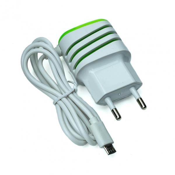 Зарядное устройство USB+mini с