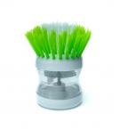 Щетка для посуды с дозатором для моющего средства с