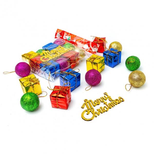 Шары+подарок набор 12ш в пакете 079 с