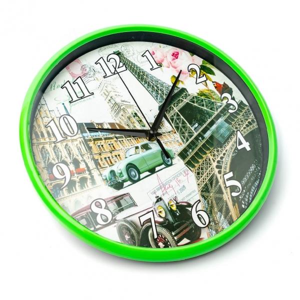 Часы настенные 30см башня круглые с