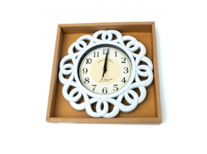 Годинник настінний d-28см L00242-43 с