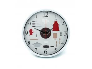 Годинник настінний d-30см L00338 Кухня с
