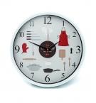 Часы настенные d-30см L00338 Кухня с