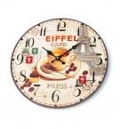 Часы настенные d-30см Париж L00238 с