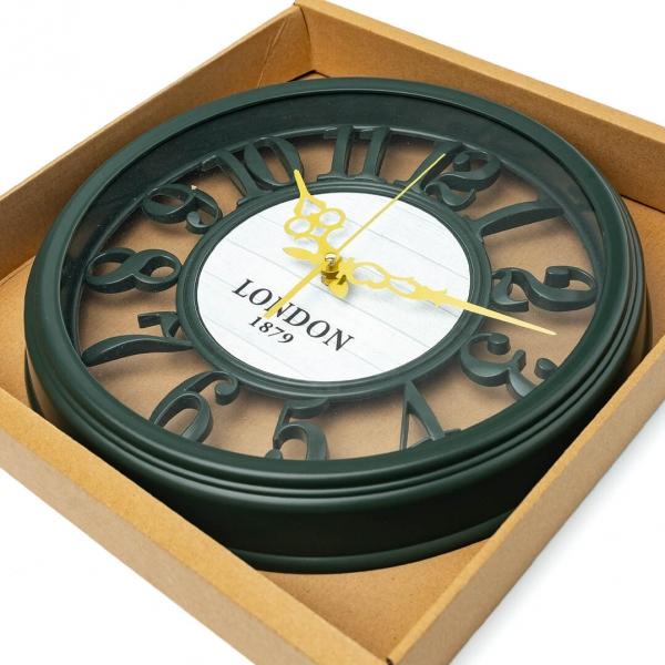 Годинник настінний d-35см L00241 с
