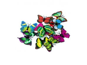 Декор Метелики на магніті 12шт с