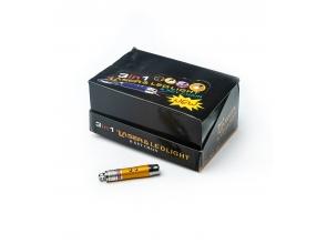 Ліхтарик-брелок 3в1 laser с