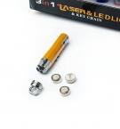 Фонарик-брелок 3в1 laser с