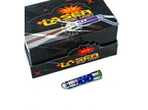 Ліхтарик-брелок 3в1 laser зі стразами с