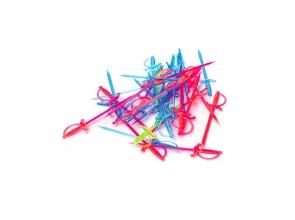Шпажки пластиковые набор 30шт 1218 с