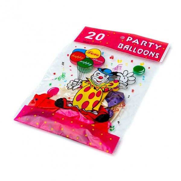 Набор воздушных шариков Перламутр 20шт с