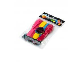 Шарики воздушные упаковка 5шт неон с