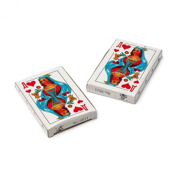 Игральные карты с пластиковым покрытием 36шт Дама с