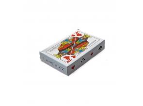 Игральные карты с пластиковым покрытием 54шт Король с