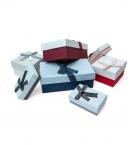 Коробка подарочная 9*7,9*5,3 бант с