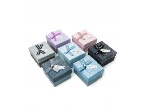 Коробка подарункова Бант 9х7,9х5,3см J00880-881