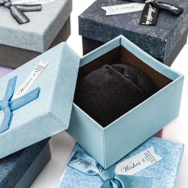 Коробка подарочная Бант 9х7,9х5,3см J00880-881