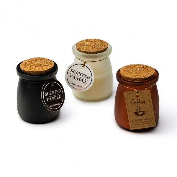 Свеча в стакане ароматическая ONTON c