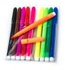 Фломастеры 10цветов Фрукты c