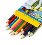 Карандаши цветные 12цветов COLOR PENCILS (4106) с