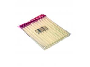 Клей силикон полоски 12шт в упаковке с