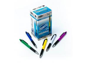 Ручка кулькова синя автоматична SQ-6505 c