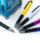 Ручка шариковая синяя автоматическая SQ-6505 c