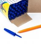 Ручка шариковая синяя Сorvina 51