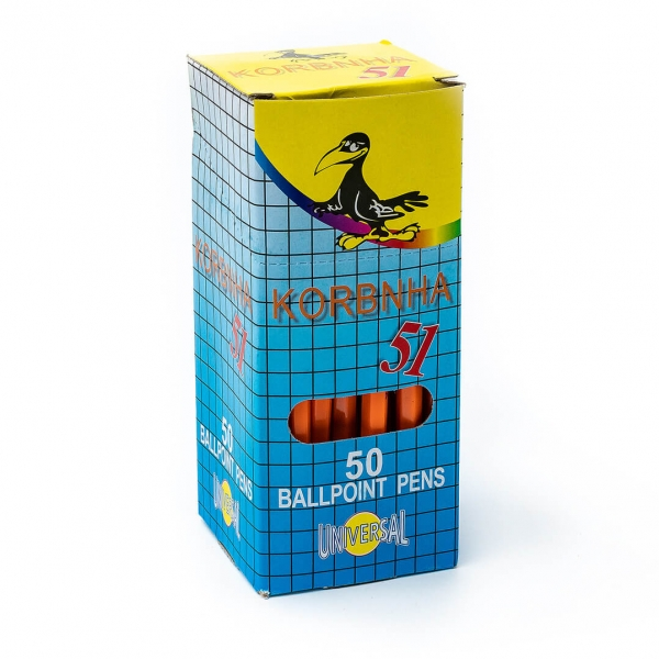 Ручка шариковая синяя Сorvina 5154 с