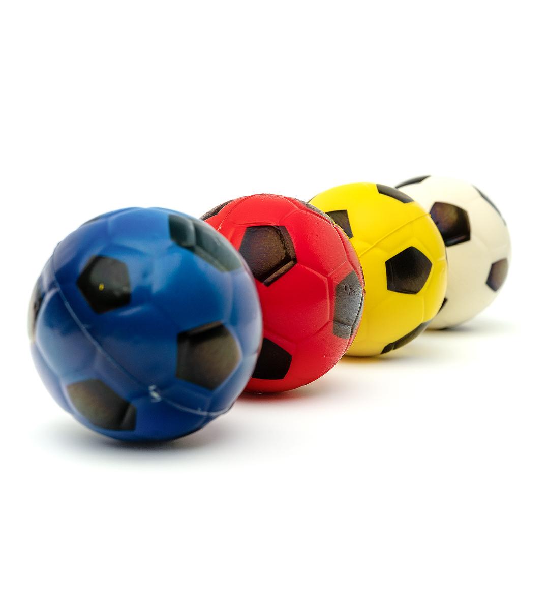 Мячик фомовый микс d-6см 3005-4 с