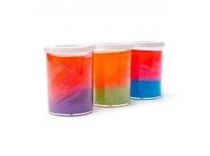 Слайм 3-х цветный перламутровый (0025) с
