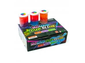 Слайм 3-х кольоровий перламутровий с