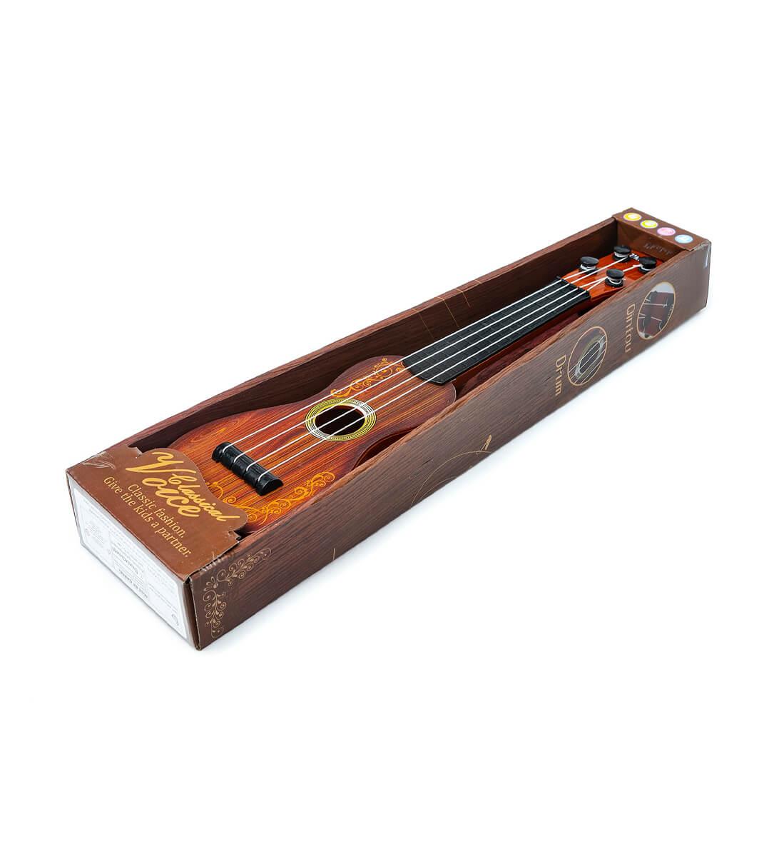 Гитара со струнами в коробке 0662с