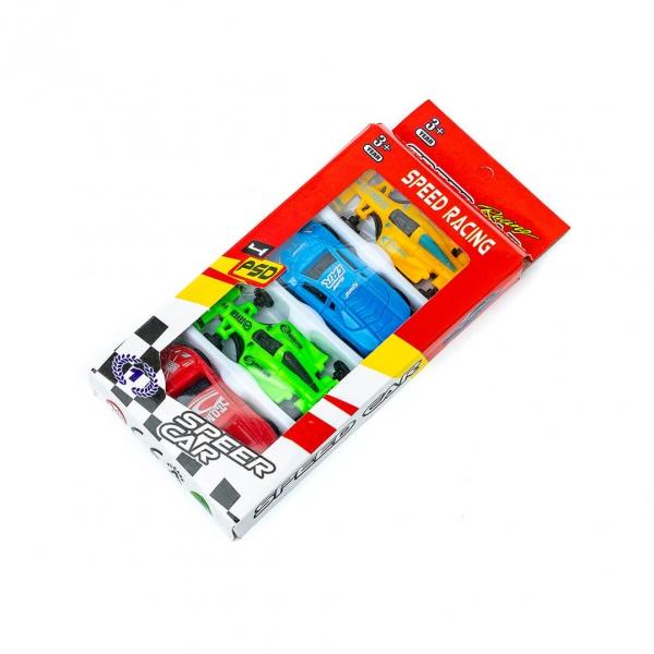 Игровой набор Машинок пластиковых 4шт (1504) с