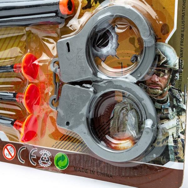 Игровой набор Полицейского с наручниками на планшете (3565) с