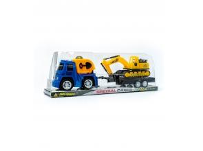 Ігровий набір Транспорту машинка з трактором (2292) c
