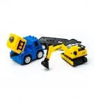 Игровой набор Транспорта машинка с трактором (2292) c