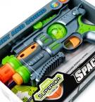 Игрушечный Пистолет со звуком и светом в коробке с