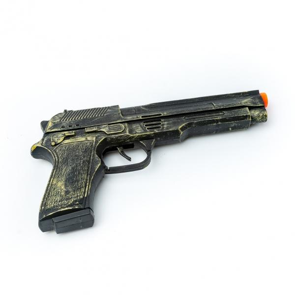 Игрушечный Пистолет трещетка на планшете (5829) с