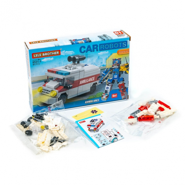Конструктор LELE Robots 8531 c