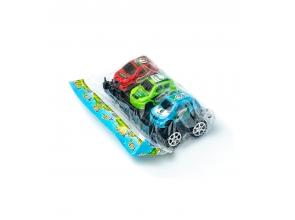 Машинки інерційні Джип кольорові 3шт с