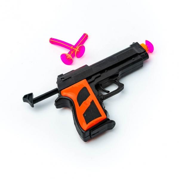 Пистолет на присосках набор 2шт с