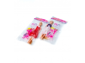 Кукла+аксессуары в пакете 1983c