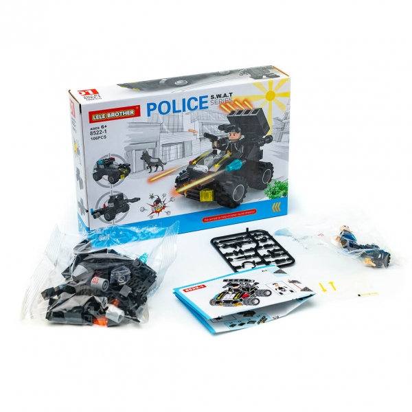Конструктор LELE Police 8522 c