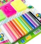 Моделин набор 12цветов на планшете 1203с