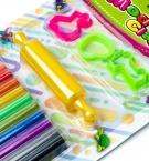 Моделин набор 12цветов на планшете 1211с