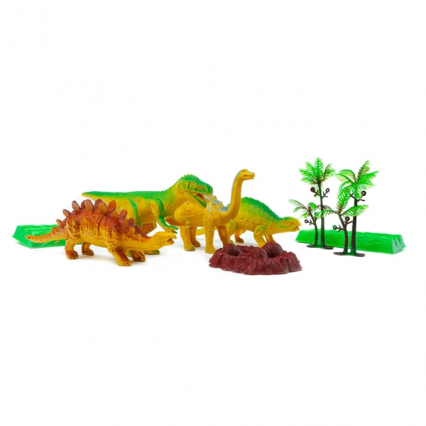 Животные динозавры в пакете с
