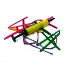 Набор воздушных шариков удлиненных с насосом 10шт (0081) с
